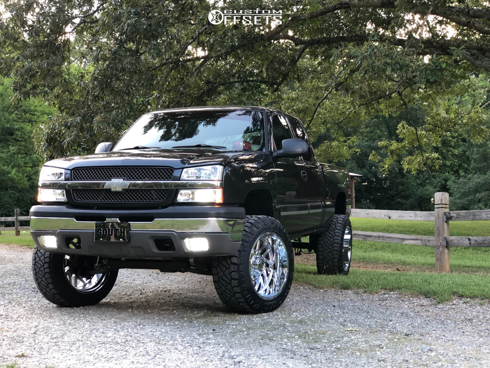 2003 Chevrolet Silverado 1500 Tis 544v 22x12 44 Nitto Ridge Grappler 35 X12 5 Superlift Suspension Lif Chevrolet Silverado Chevrolet Silverado 1500 Silverado