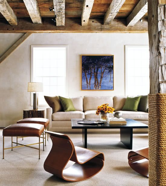 :: Havens South Designs :: loves this mix of contemporary in a barn setting.