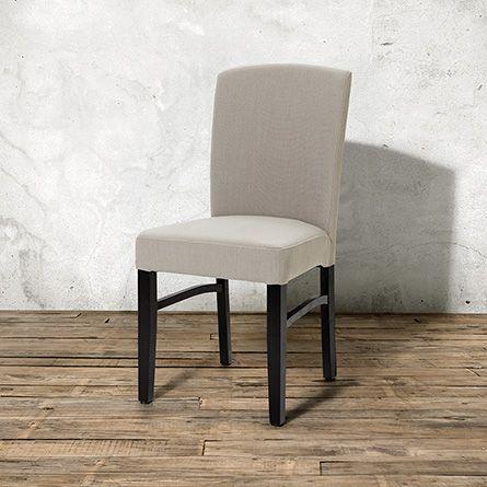 Capri Dining Side Chair in Antwerp Cement Arhaus Furniture New
