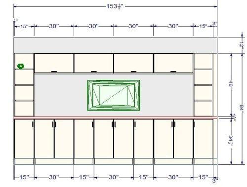 ikea tv wall unit dimensions   Ikea tv wall unit, Tv wall ...