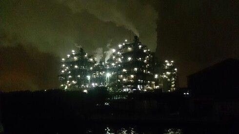 Yokohama industrial area