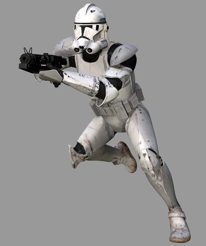 Clone Trooper , 41st Elite Corps, 9th Assault Corps (Grey)