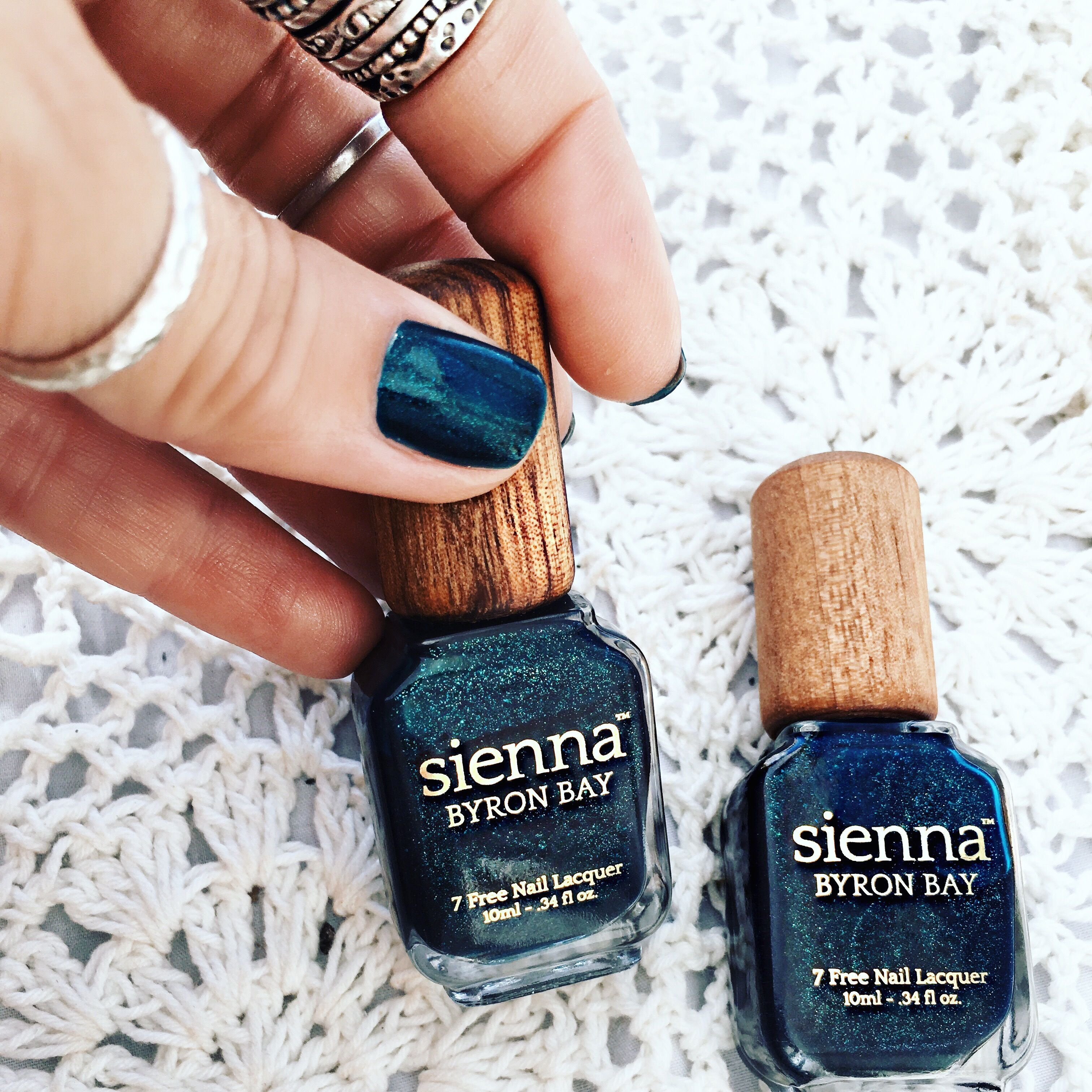 GypsyLovinLight: wearing Sienna Byron Bay nail polish in Gypsy ...