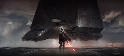 Empire Arrives by Joshua Viers