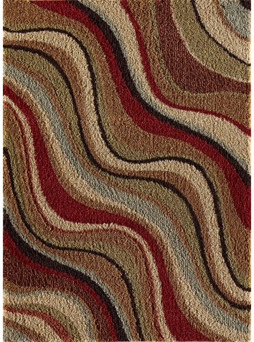 This Fashion Shag Collection rug (9510) is manufactured by Tayse. Regal in design and unmatched in comfort the full, beautiful colors of our Fashion Shag line add a novel feel to the nostalgia of shag.