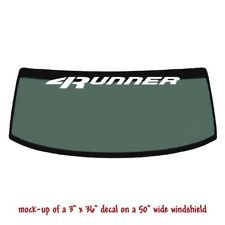 TOYOTA SUPRA Windshield Banner Long Lasting Premium Decal Sticker 40/""