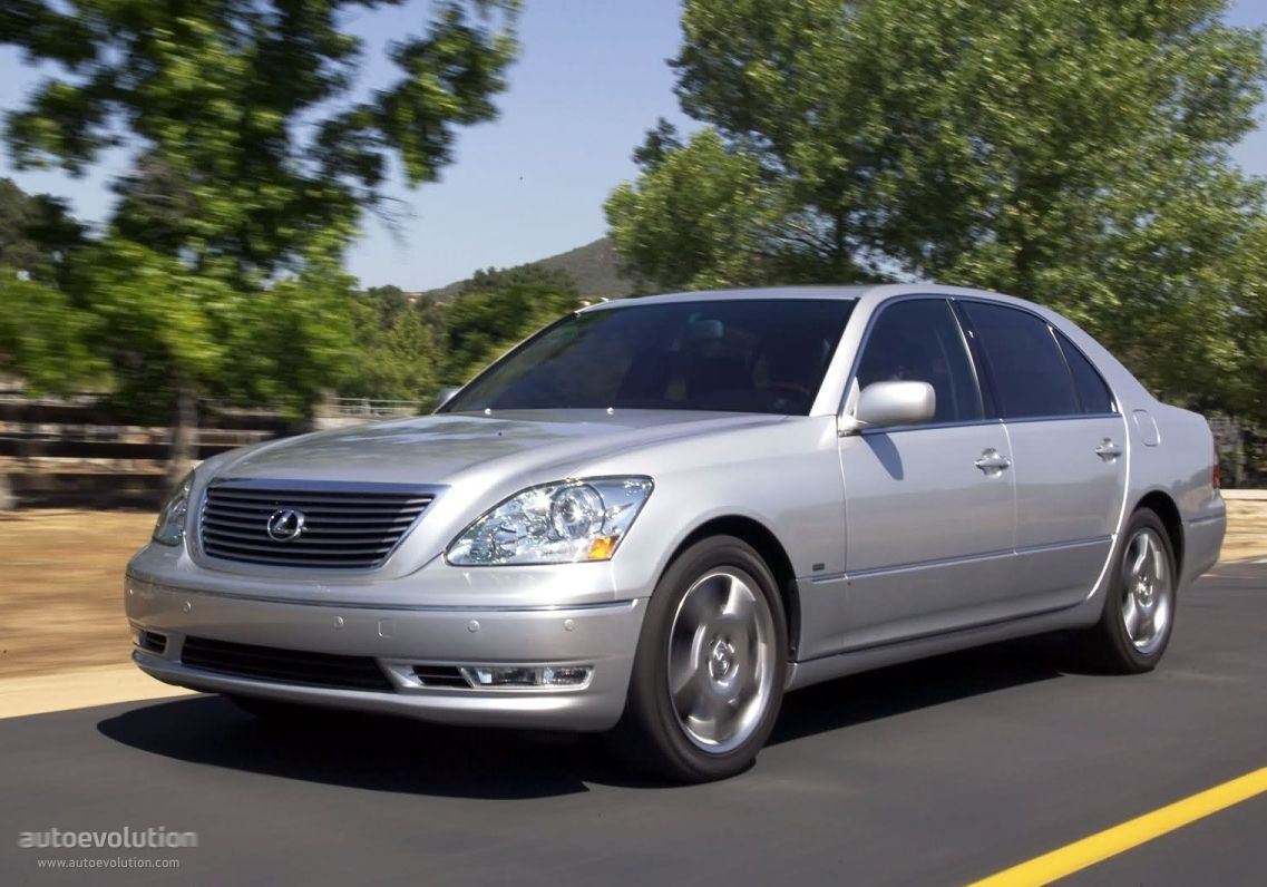 LEXUS LS (2003 - 2006) Description & History:transmission    Drive Type      Rear Wheel Drive   Gearbox      Automatic, 6 Speed