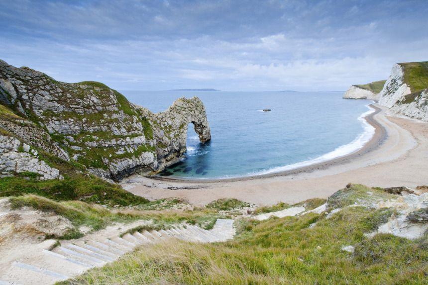 jurassic coast, england.