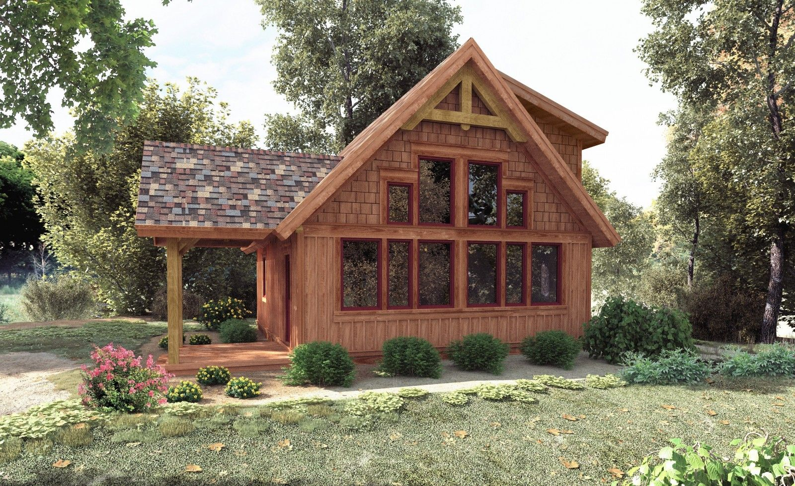 CedarRun has 832 sq ft. with a large living room, 2 bedrooms and 2 ...