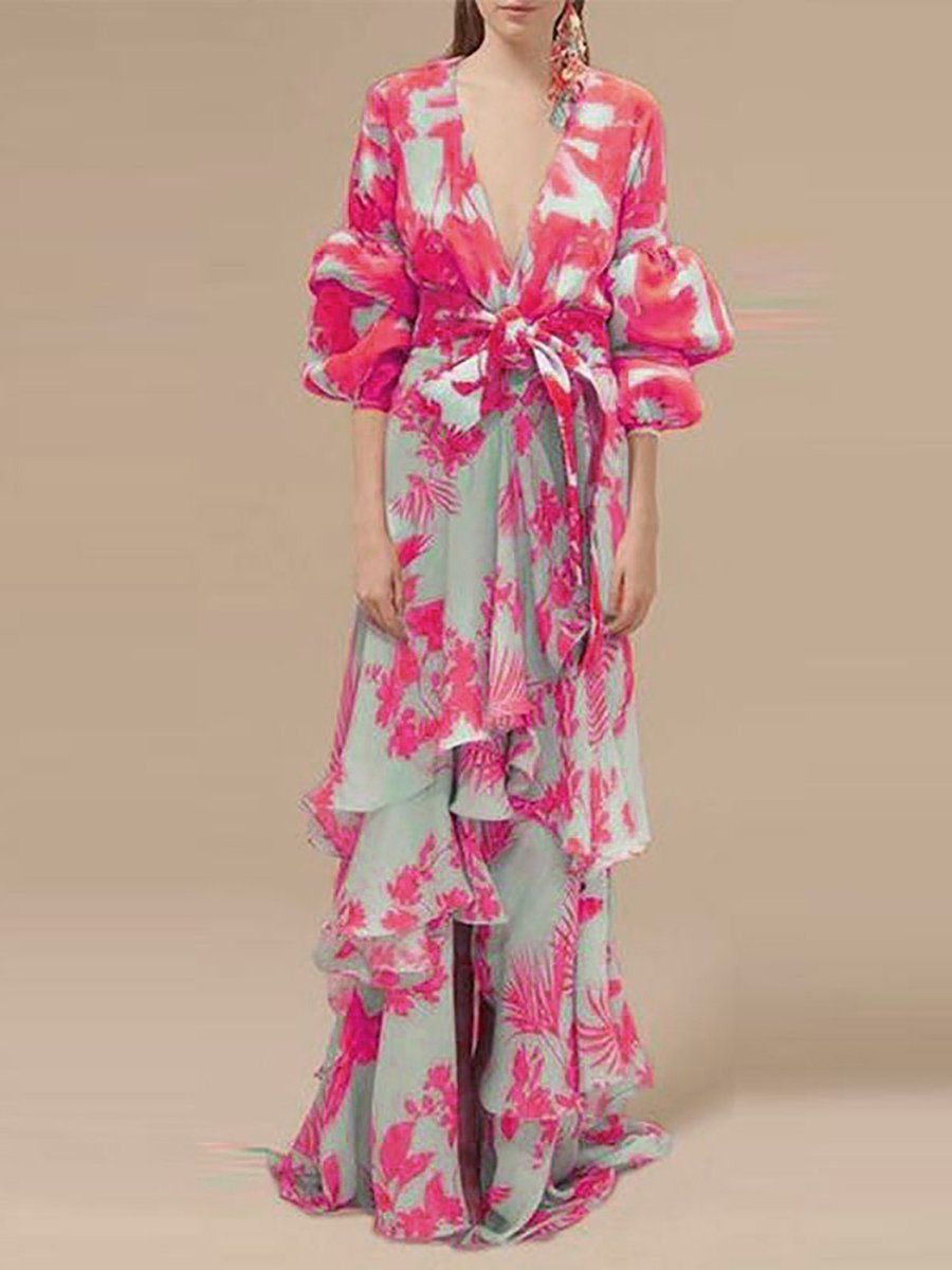 Abend Blume Kleider – LOOVINCY  Modestil, Kleider, Tropisches kleid