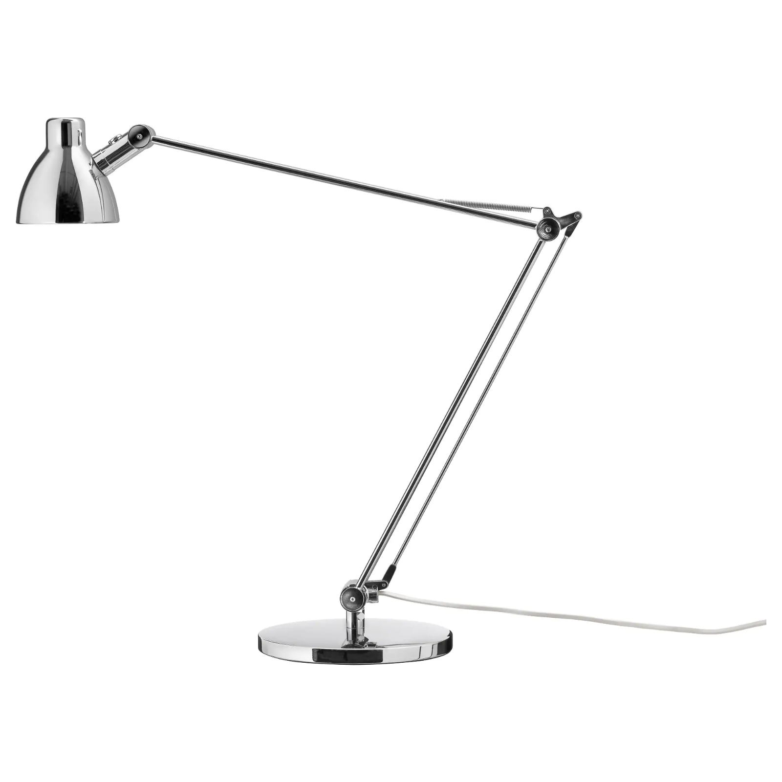 Nib Ikea Antifoni Table Desk Lamp Work Reading Adjustable Matte Silver 19057 35 00 Silver Desk Lamps Ideas Of Silver Desk In 2020 Lamp Work Lamp Led Light Bulb