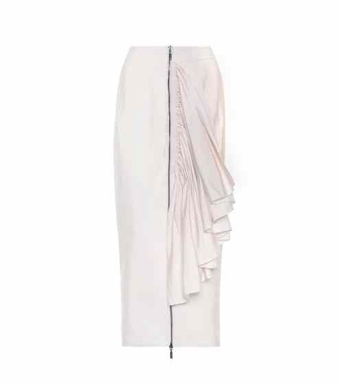 Immaculate ruffled pencil skirt Maticevski For Nice For Sale Authentic Online Cheap Amazing Price IiSrKFk5