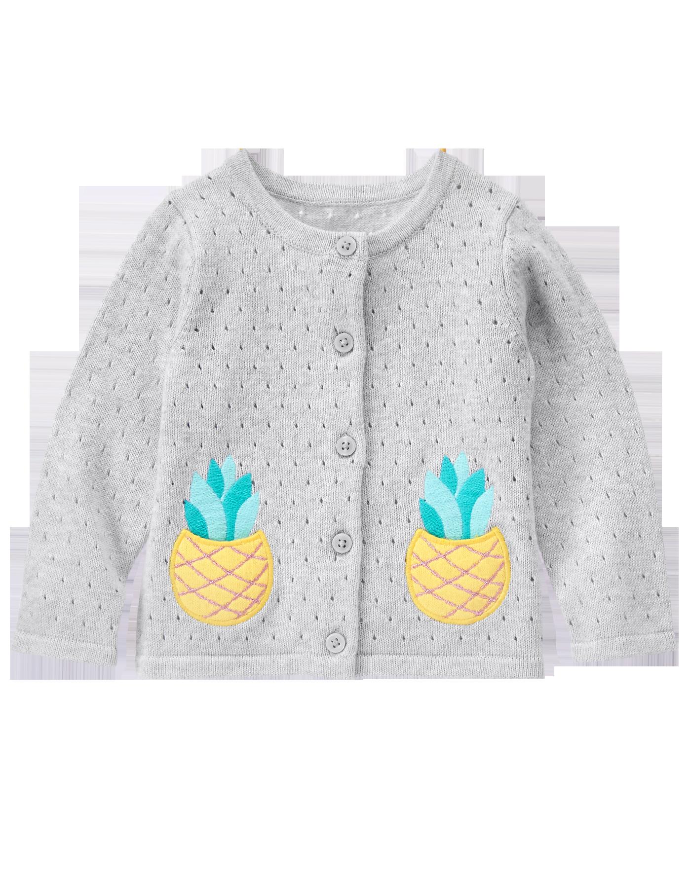 Pineapple Cardigan