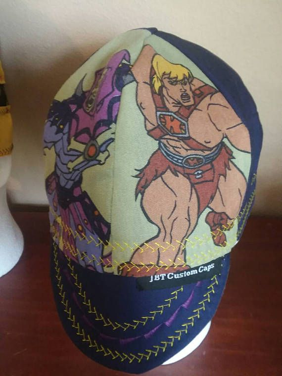 JBT Custom Welding Cap He-Man Skeletor Greyskull I Have the Power ... 40eacefead07