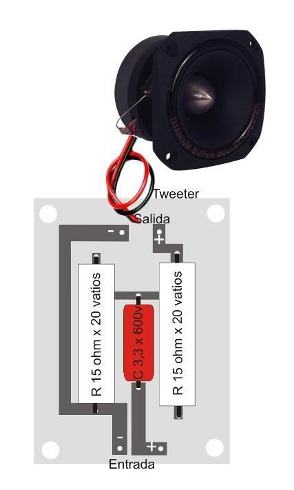 Conexión De Parlantes Y Tweeters Audio Amplifier Dayton Audio Hifi Audio