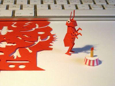A l 39 ombre du pommier fourmi rouge my papers fourmis et rouge - Fourmi rouge et tamanoir ...