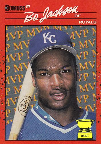 Ten Most Valuable Baseball Cards Baseball Card Bust Bo Jackson