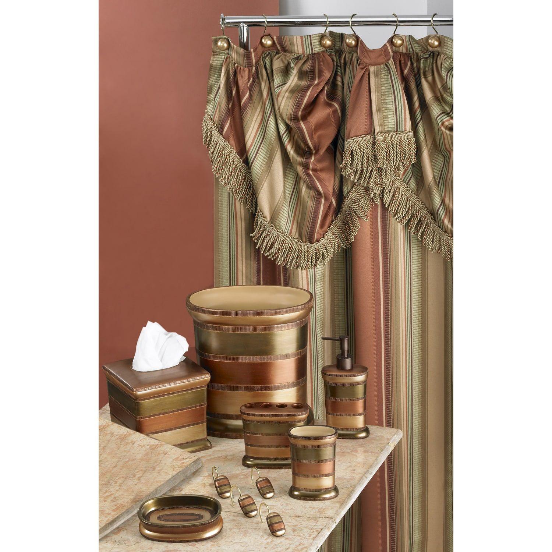 Contempo Fabric Shower Curtain Fabric Contempo Curtain