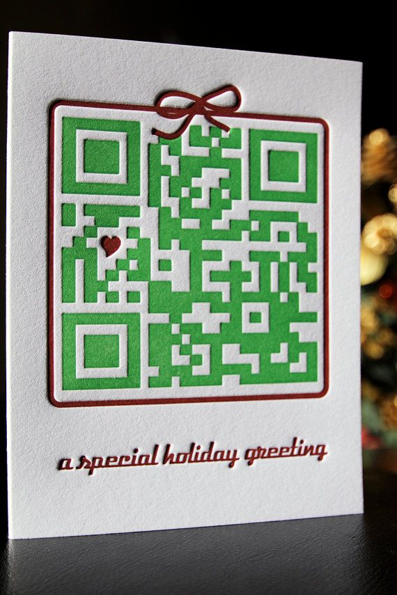 What a great idea for a Christmas Card: \