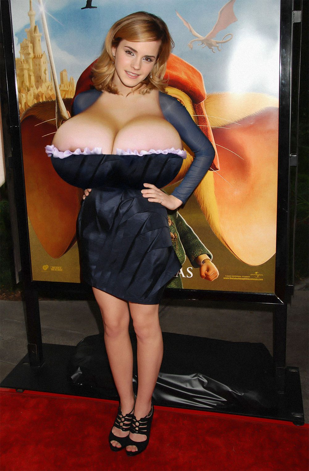 The expert, Celebity large breasts