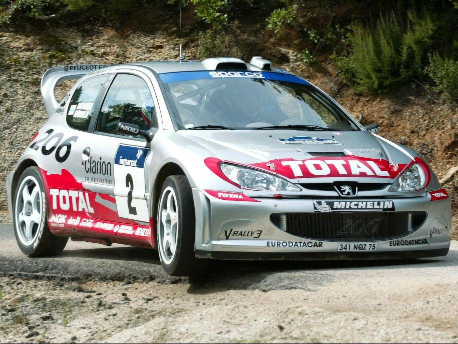 206 WRC | 206 pics | Pinterest | Peugeot and Rally