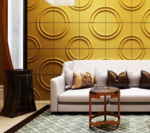 3D wall art panels, textured wall panel design ideas | Wall ...