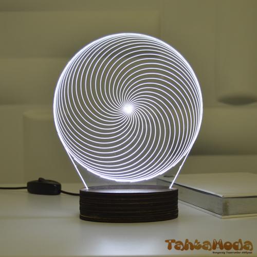 Tahtamoda 3D 3 Boyutlu Dekoratif Led Lamba Sihirli Küre - tht3d3
