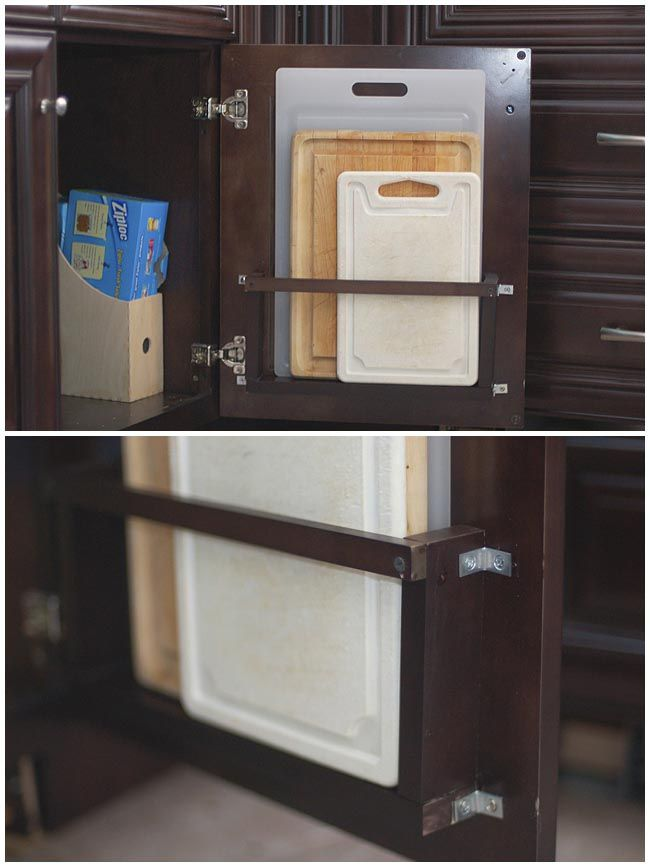 7 Awesome Kitchen Cabinet Door Storage Ideas That Will Organize Your
