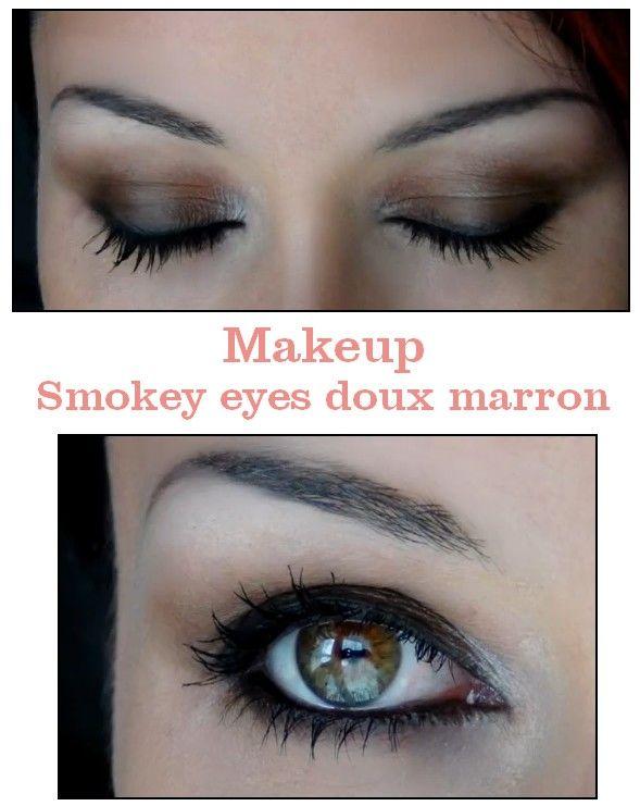 tuto smoky eyes marron min aperu de la video maquillage raliser un smoky eyes noir with tuto. Black Bedroom Furniture Sets. Home Design Ideas