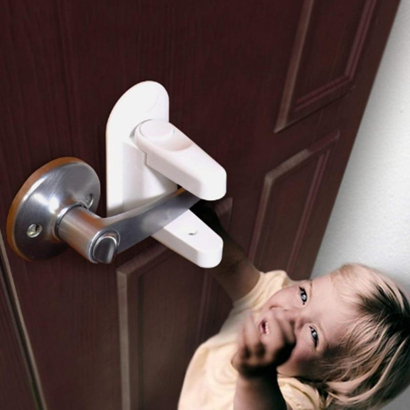 The Children Safety Door Lock Is A Clever Way To Keep Children Out Of The Main Door Kitchen Bathroom And G Child Proofing Doors Door Levers Baby Safety Locks