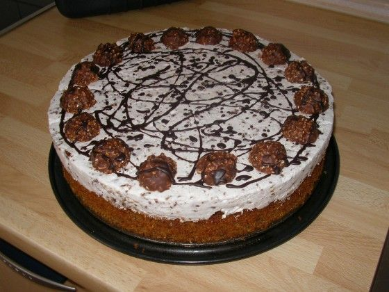 Ferrero Rocher Torte Rezept G E R M A N Pinterest Torte