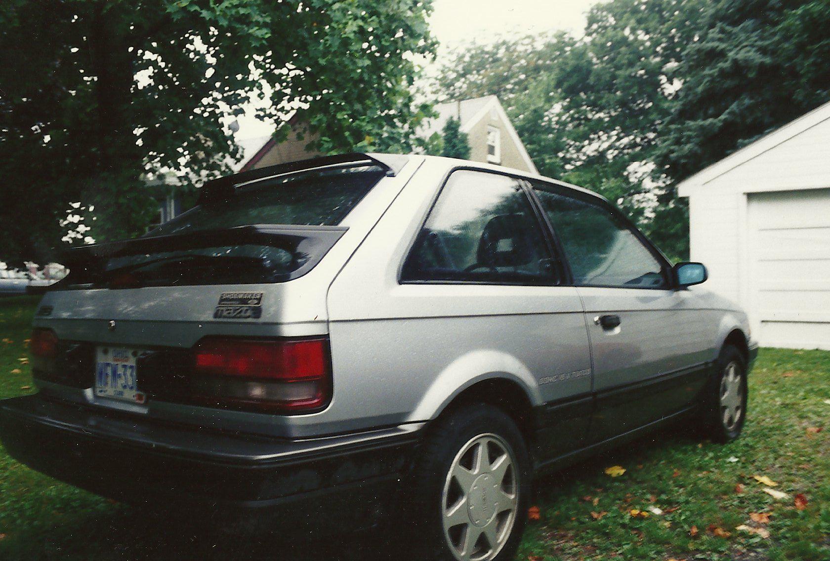 my first 1988 mazda 323 gtx 1 6l turbo all wheel drive 5 speed rh pinterest com Manual Mazda 325 Mazda 3 Manual