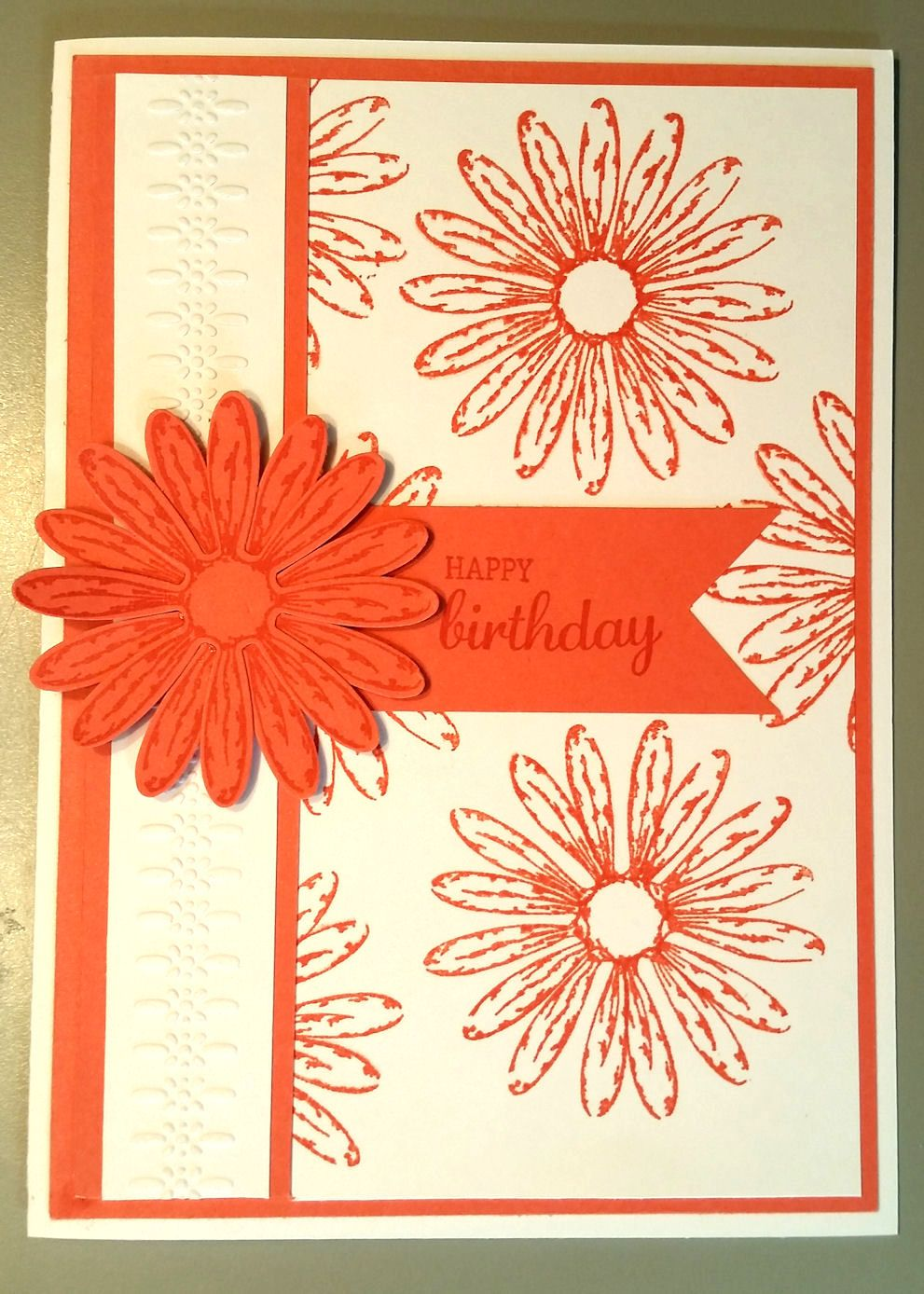 This birthday card was based on a pip by sandra from violet vs