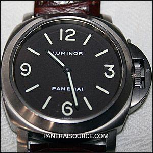wholesale dealer fc545 c24b2 PAM 055 Panerai Luminor Base - Historic PAM00055   PANERAI ...