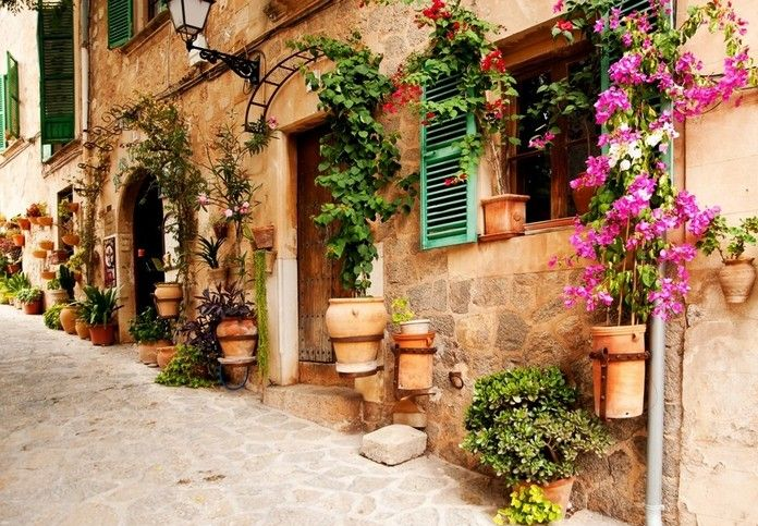 Top 10 Most Beautiful Streets In Italy Italy Street Wall Murals