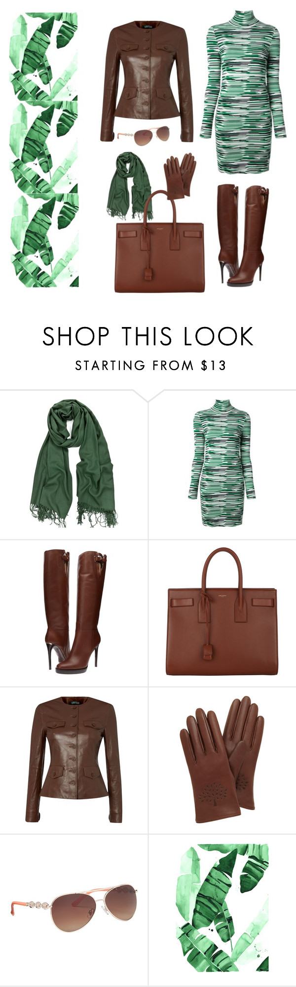 """Stella"" by b-nieves ❤ liked on Polyvore featuring STELLA McCARTNEY, Burberry, Yves Saint Laurent, Lauren Ralph Lauren, Mulberry and maurices"