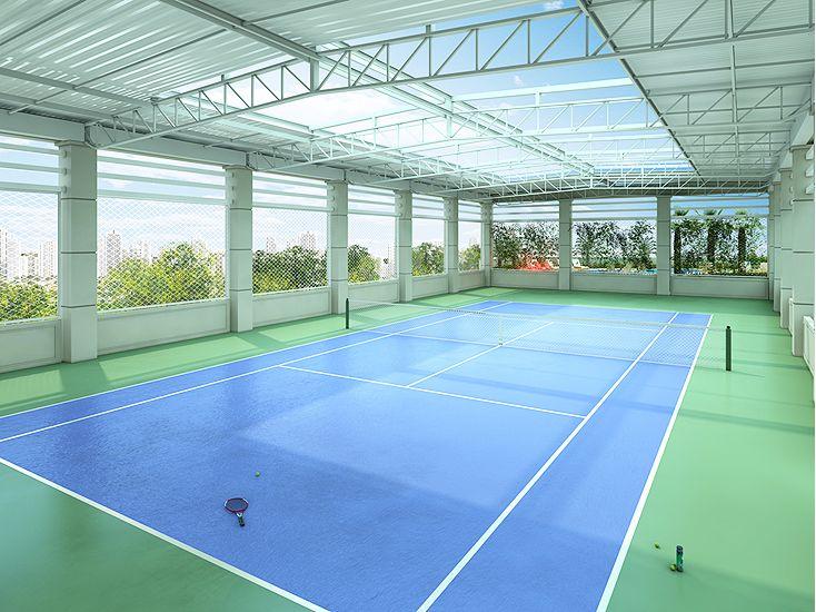 Piazza Suprema Quadra De Tenis Tennis Court Backyard Indoor Soccer Field Tennis Court Design