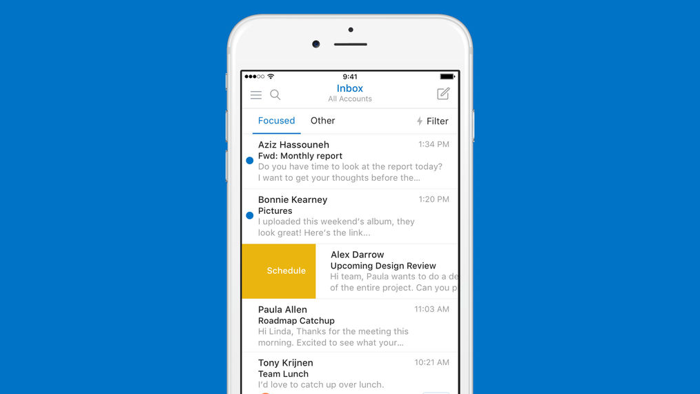 Microsoft updates Outlook for iOS with Sunriseinspired