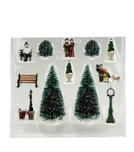 Accessory Value Pack  12 Pc : Houses U0026 Accessories : Christmas Decor : Home  Decor