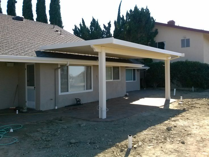 image result for how to attach a patio roof to an existing house - How To Attach A Patio Roof To An Existing House