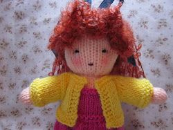 free pattern for knit Waldorf doll and clothes by Hook, By Hand