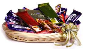 Mix #Chocolate Basket Arrangment for Someone Special.