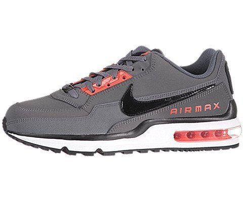 8b7e851402 :Nike Men's NIKE AIR MAX LTD RUNNING SHOES 11 (DARK GREY/BLACK/MAX ORANGE)