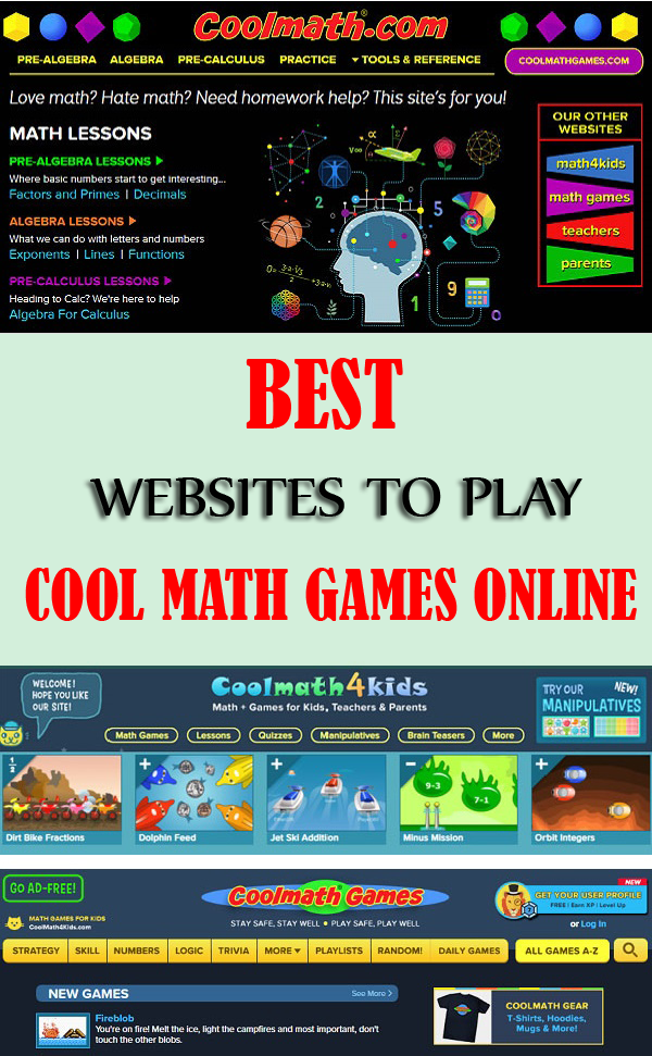 Best Coolmath Games to Play Online in 2020 Math games