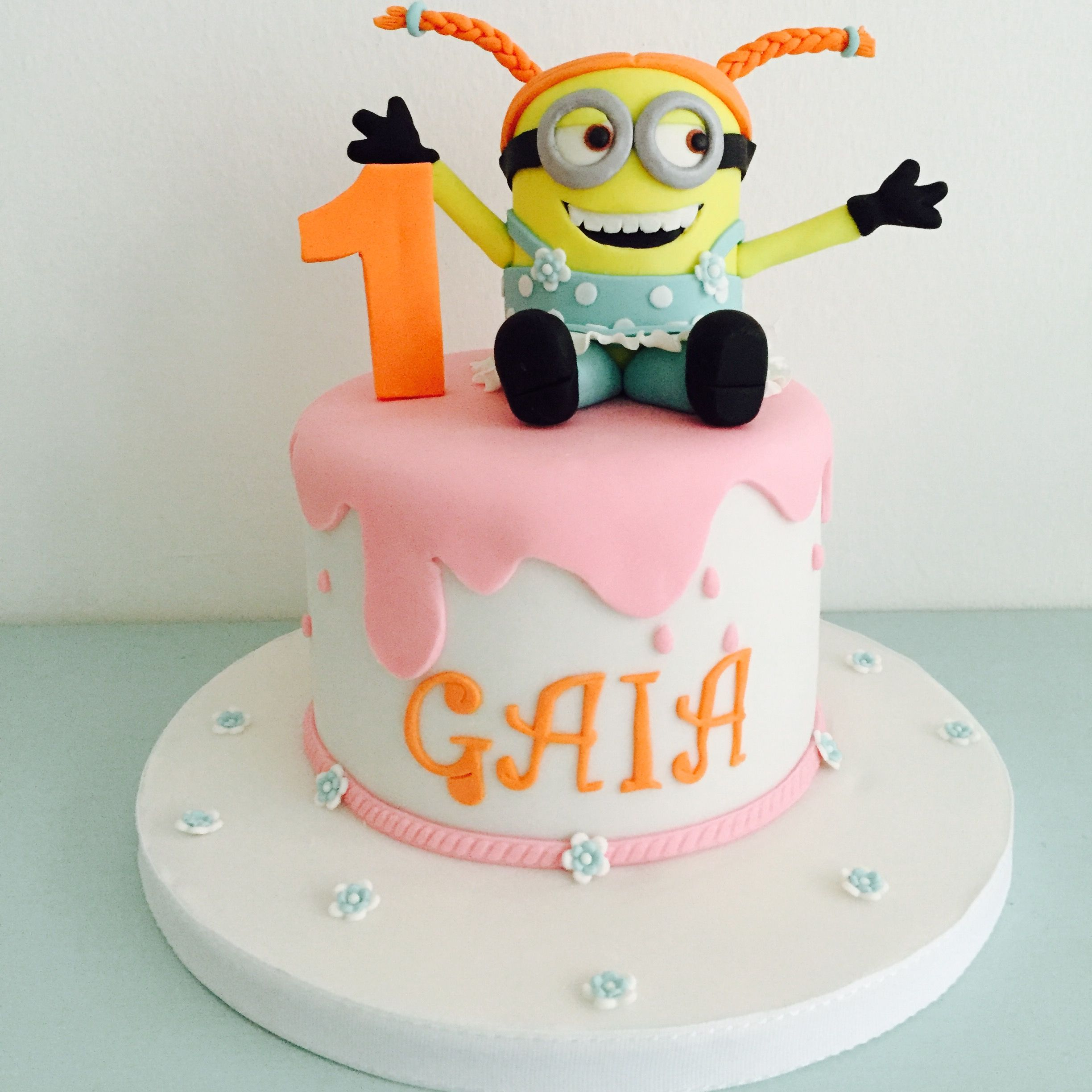 brand new d00a2 b697d Torte Decorate | Kids food fun | Cake, Girl minion, Birthday ...