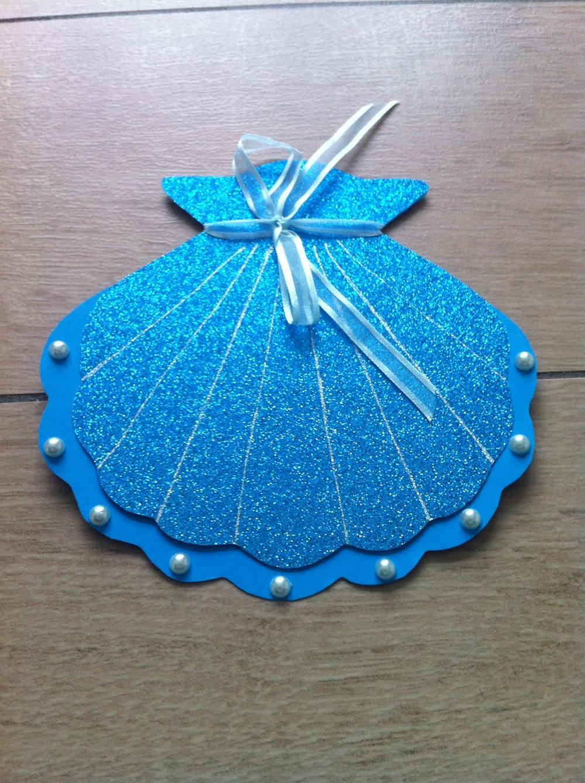 Photo of Invitation Mermaid Birthday Shell Invitation Children's Birthday Invitation Cards …