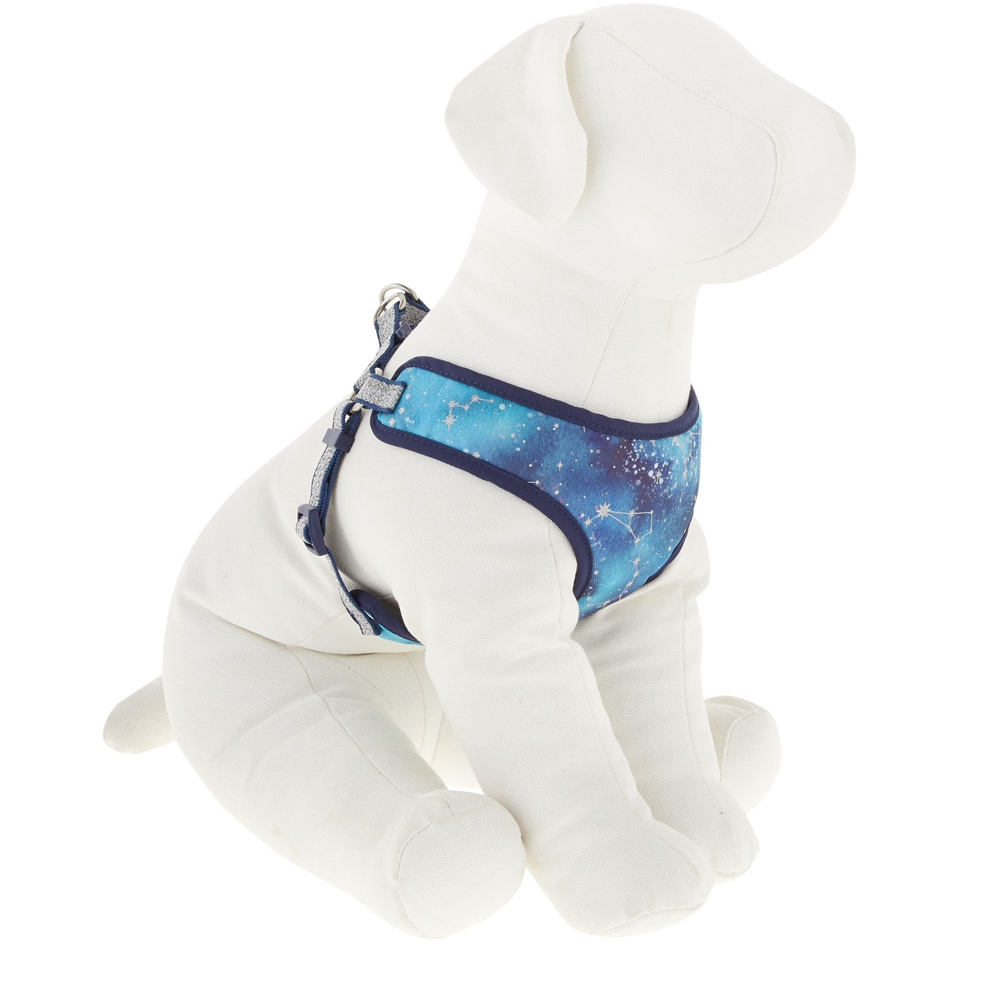 Top Paw Galaxy Dog Harness Size X Small Blue White Dog Harness