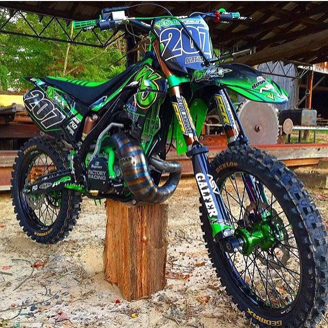 Wipeoutmx Kx250 Build Is Finally Finished Turned Out So Sick Tag A