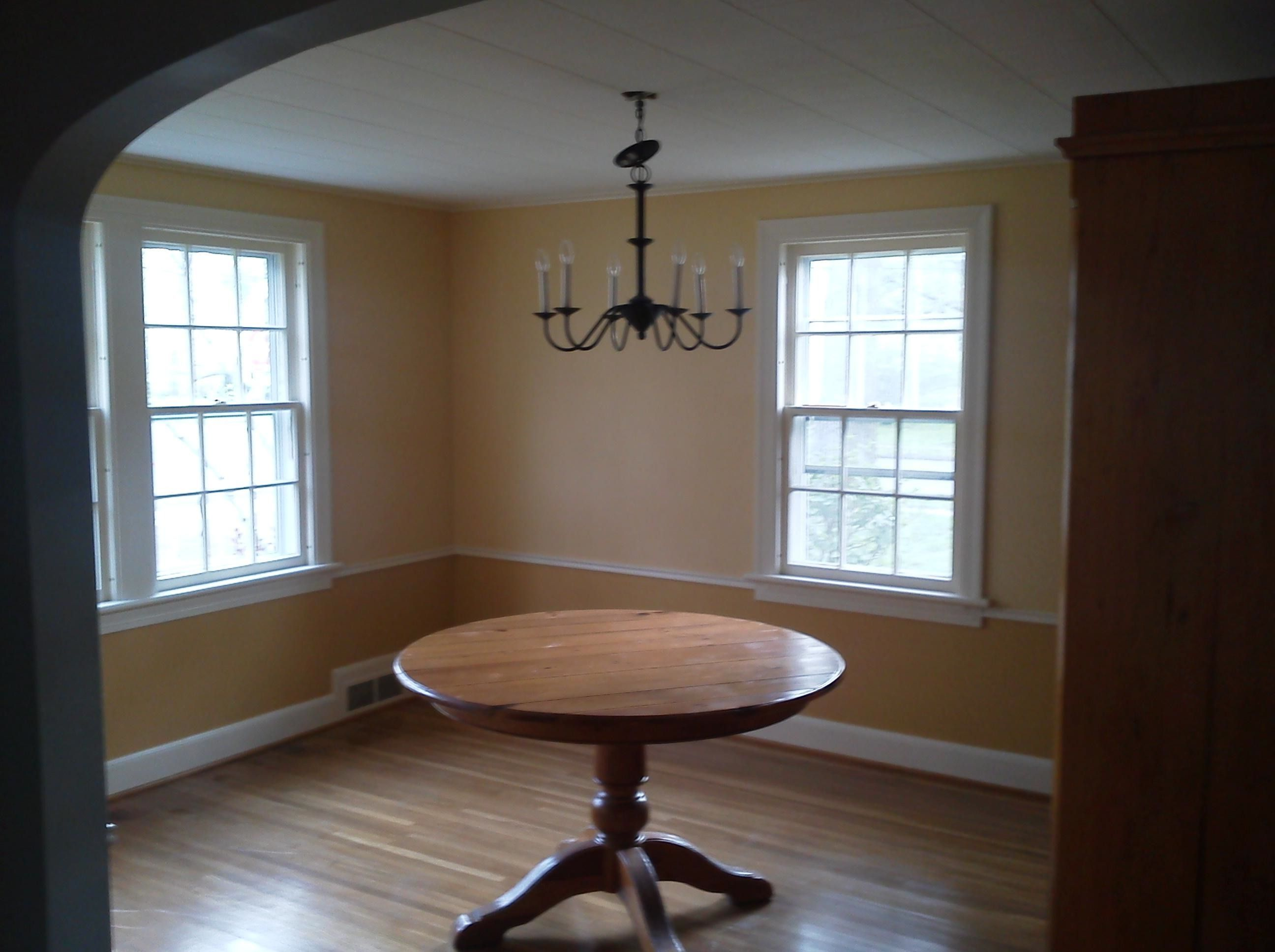 Dining Room In Anjou Pear