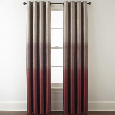 Studio Dylan Ombre Grommet Top Curtain Panel Grommet Top